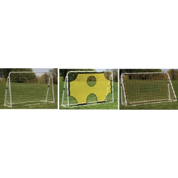 3 in 1 Trainer Soccer Goal Set