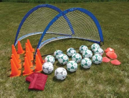Deluxe 2 Goal Value Pack-Size 5 Balls