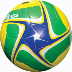 Mikasa SCE Soccer Ball - Blue/Green/Yellow (Size 4)