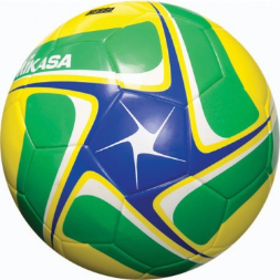 Mikasa SCE Soccer Ball - Blue/Green/Yellow (Size 5)