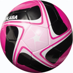 Mikasa SCE Soccer Ball - Pink/Black/White (Size 4)
