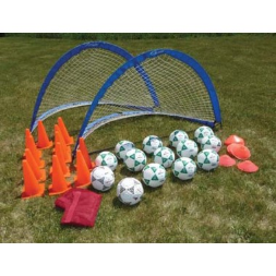 Deluxe 2 Goal Value Pack-Size 4 Balls