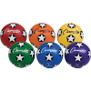 Colored Soccer Balls - Size 4 (Set of 6)