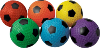 Dimple Soccer Balls - Set of 6